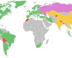 ビットコインを禁止している国